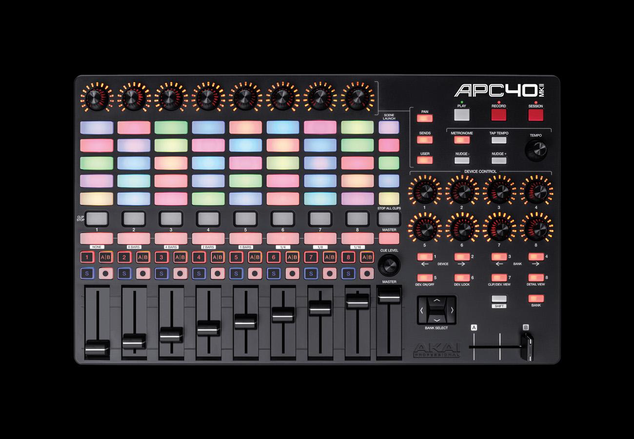 AKAI APC40 MK II Front