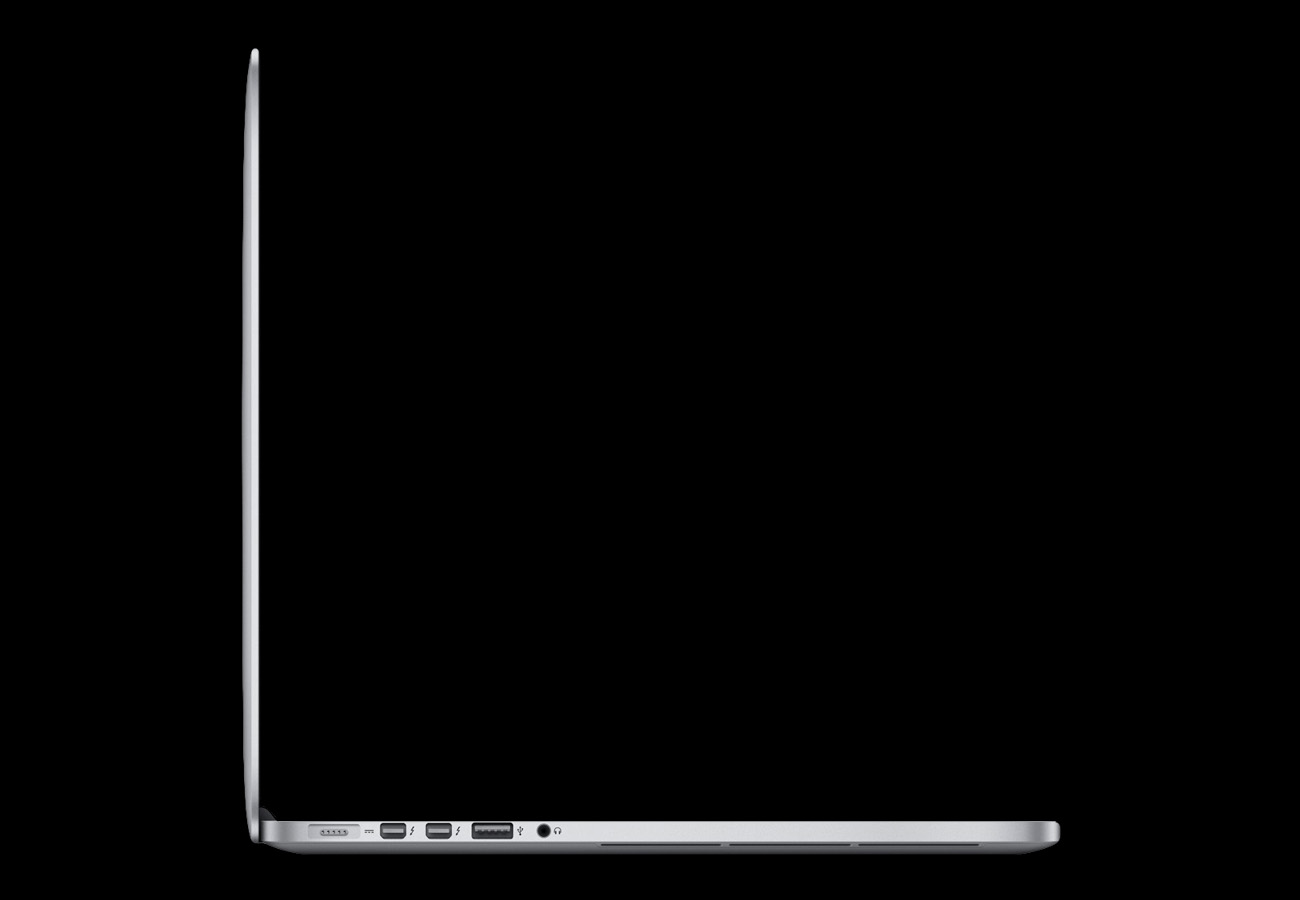 Apple MacBook Pro Retina Side