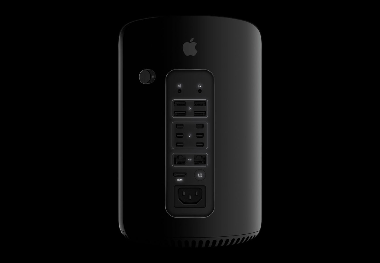 Apple MacPro Back