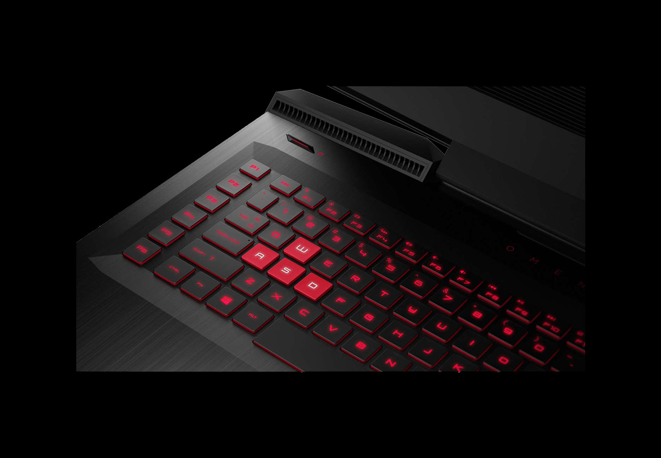 HP Omen Laptop Detail
