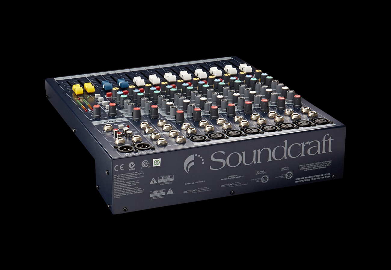 Soundcraft EPM 8 Back