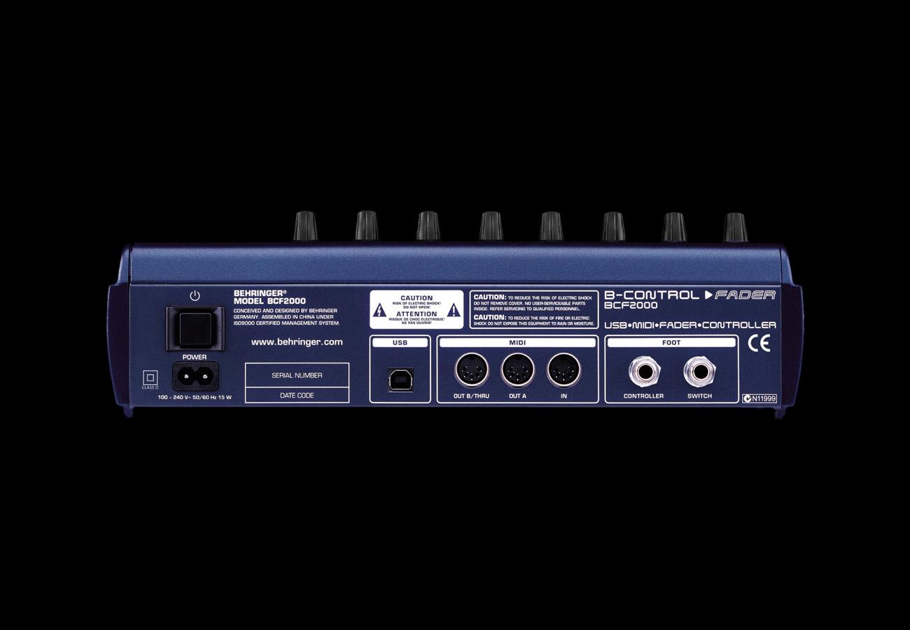Behringer BFC-2000 Back